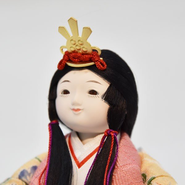 雛人形 ケース飾り コンパクト 立雛 ひな人形 お雛様 ミニ JIN雛シリーズ ケース入り おしゃれ|jinya|06