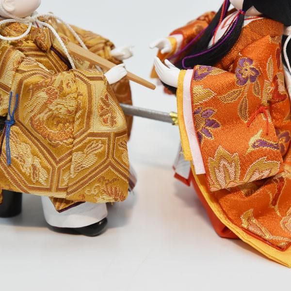 雛人形 ケース飾り コンパクト 立雛 ひな人形 お雛様 ミニ JIN雛シリーズ ケース入り おしゃれ|jinya|07