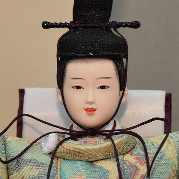 雛人形 小さい コンパクト mini ひな人形 お雛様 初節句飾り お祝い 親王飾り 2人 平飾り 46t jinya 02