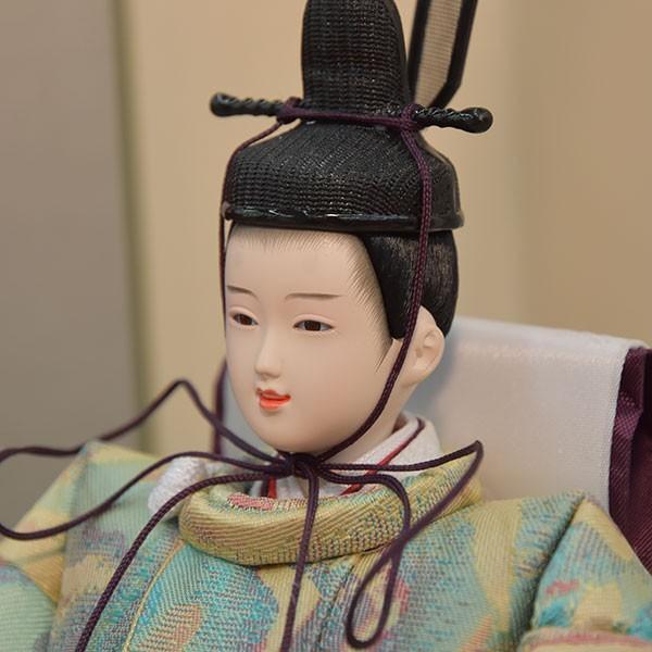 雛人形 小さい コンパクト mini ひな人形 お雛様 初節句飾り お祝い 親王飾り 2人 平飾り 46t jinya 04
