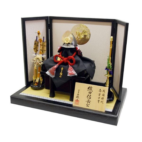 五月人形 織田信長 5月人形 兜飾り kabuto60-69|jinya|02