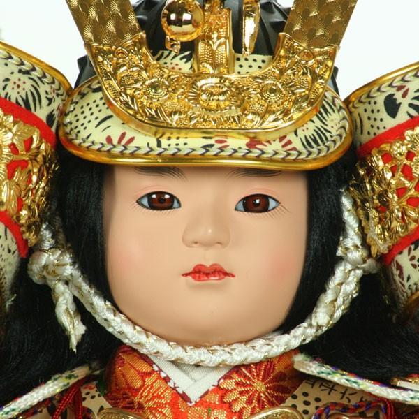 五月人形 大将飾り ケース入り コンパクト 子供大将 おしゃれ 鎧 甲冑 兜 5月人形 taisyou-49|jinya|05
