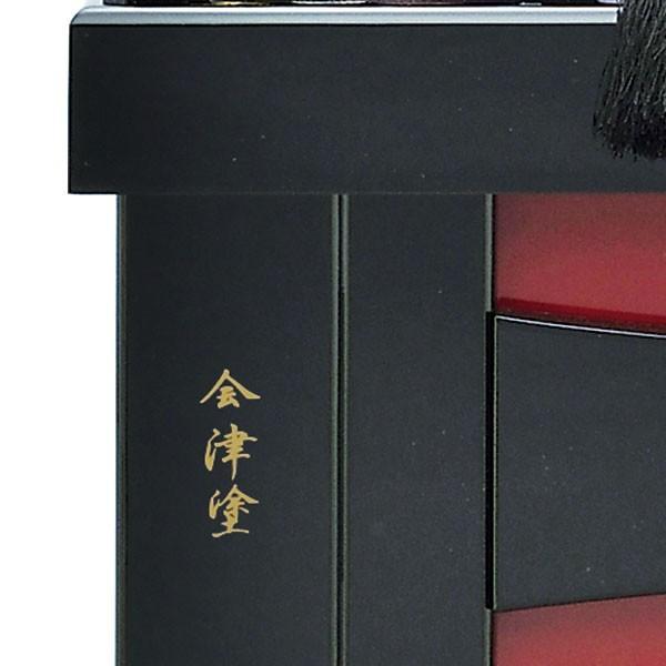 【最短即日出荷可能品】 五月人形 着用 収納飾り 兜飾り 23号 彫金 伊達政宗 着用兜収納飾り kabuto50-59 5月人形 jinya 05