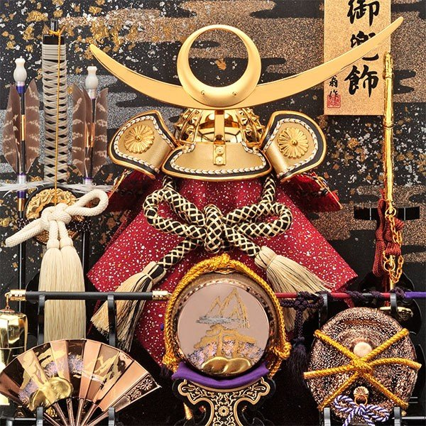五月人形 兜飾り コンパクト 上杉謙信 ケース飾り かぶと 兜 135-728 kabuto-49 5月人形|jinya|02