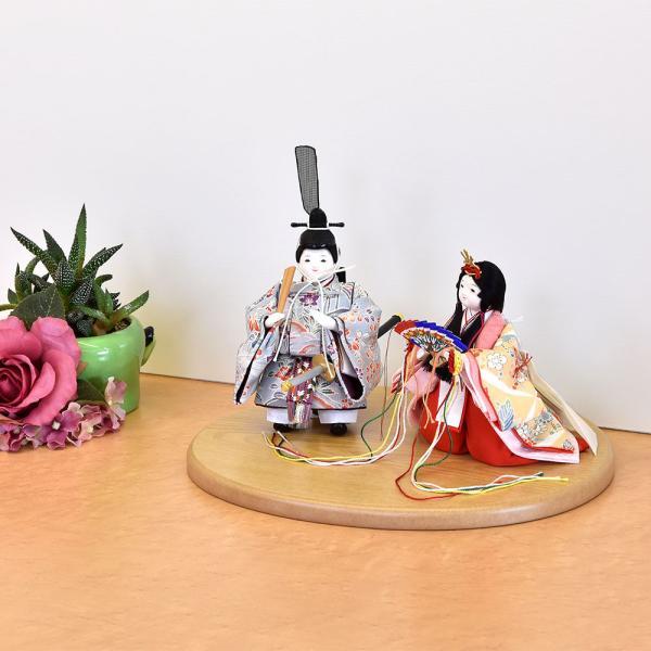 雛人形 立雛 コンパクト ミニ ひな人形 幼顔の おしゃれで かわいい お雛様 JIN雛 シリーズ|jinya