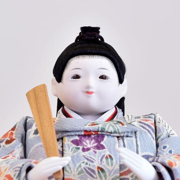 雛人形 立雛 コンパクト ミニ ひな人形 幼顔の おしゃれで かわいい お雛様 JIN雛 シリーズ|jinya|04