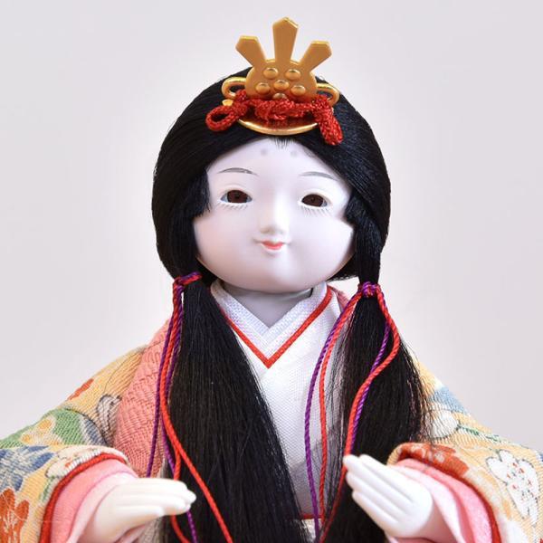 雛人形 立雛 コンパクト ミニ ひな人形 幼顔の おしゃれで かわいい お雛様 JIN雛 シリーズ|jinya|05