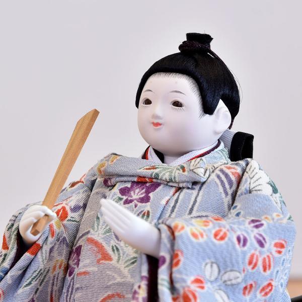 雛人形 立雛 コンパクト ミニ ひな人形 幼顔の おしゃれで かわいい お雛様 JIN雛 シリーズ|jinya|06