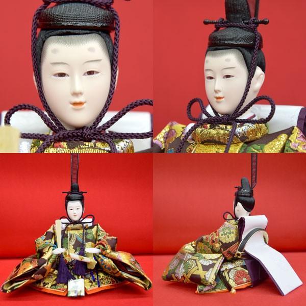 雛人形 コンパクト ひな人形 五段飾り 十五人 15人飾り 5段 ミニひな人形|jinya|08