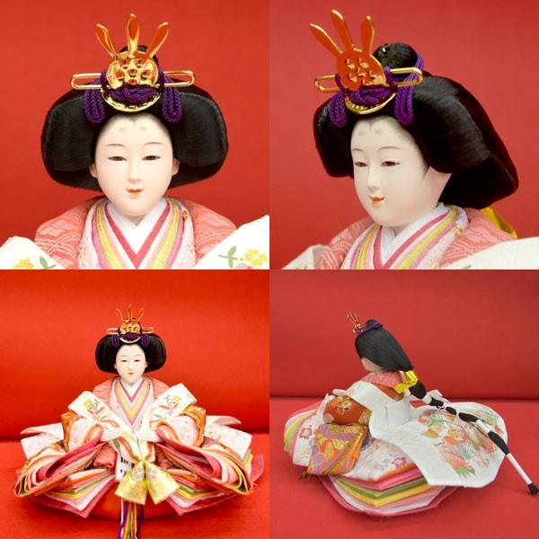 雛人形 コンパクト ひな人形 五段飾り 十五人 15人飾り 5段 ミニひな人形|jinya|09