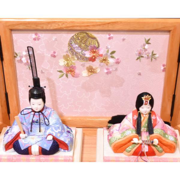 雛人形 久月 木目込み 収納飾り ほのか コンパクト mini 小さい 杉田 ひな人形 初節句飾り お祝|jinya|04