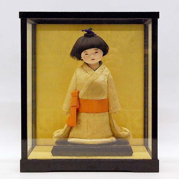 五月人形 童人形 子供人形 日本人形 木目込人形 無我 ケース入り|jinya
