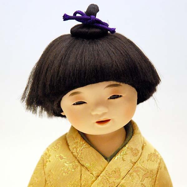 五月人形 童人形 子供人形 日本人形 木目込人形 無我 ケース入り|jinya|03