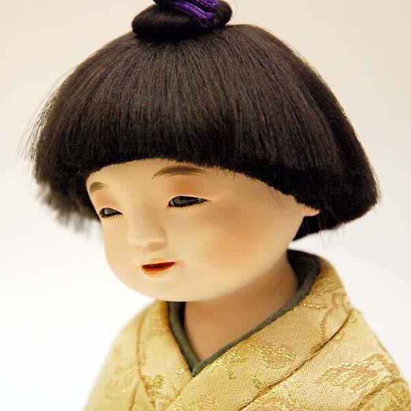 五月人形 童人形 子供人形 日本人形 木目込人形 無我 ケース入り|jinya|05
