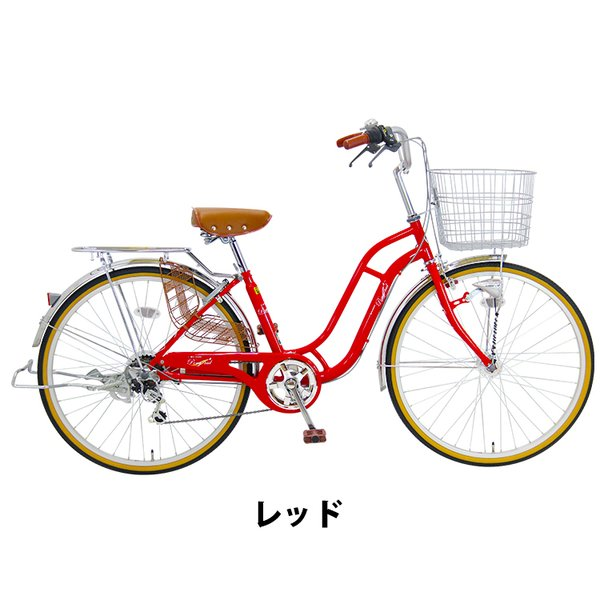 子供乗せ自転車 24インチ LEDブロックダイナモ 6段変速 ポニーテール 自転車 後ろ子供乗せ RBC-007DX3シートセット アップグレード可|jitensha-box|02