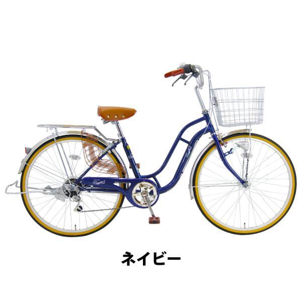 子供乗せ自転車 24インチ LEDブロックダイナモ 6段変速 ポニーテール 自転車 後ろ子供乗せ RBC-007DX3シートセット アップグレード可|jitensha-box|03