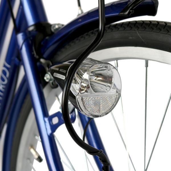 ママチャリ 26インチ オートライト 自転車 シティサイクル 安い 260HD ブルー 青 本体 新品 女子 男子 激安|jitensya-bank|06