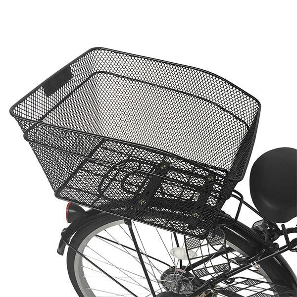 後ろかご 設置サービス ママチャリ 自転車 大容量かご 取り付け工賃込み 後ろカゴ|jitensya-bank|07