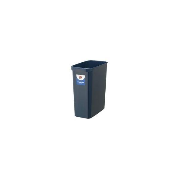 (業務用30セット)ジョインテックス 持ち手付きゴミ箱角型18L ブルー N156J-B