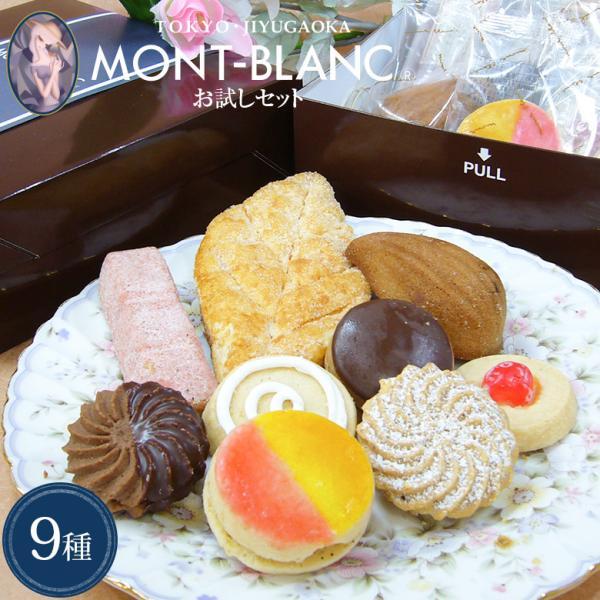 スイーツ お取り寄せ 自由が丘モンブラン お試しセット 9種入 クッキー サブレ フィナンシェ マドレーヌ 洋菓子 焼き菓子 お菓子 詰め合わせ|jiyugaoka-mont-blanc