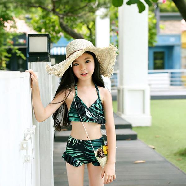 セール  安い  ビキニ 幼児 女の子 水着 セパレート スイムウェア ジュニア 温泉用 女児 水着プール 海水浴 水遊び ビーチ水着  子供用水着 セパレー|jj-shop
