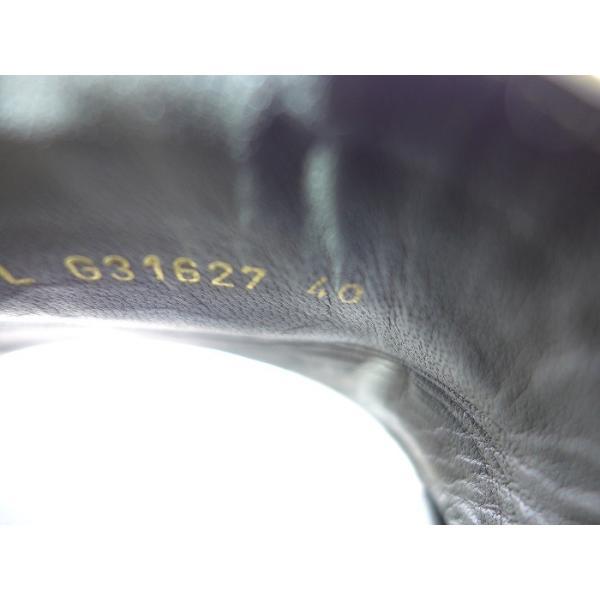 シャネル ベナッシ サンダル16P ツイード/チェーン カーキ G31627 表記サイズ40