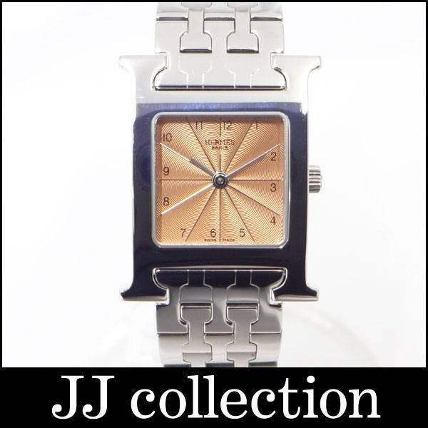 Hウォッチ クォーツ HH1.210 SS オレンジ文字盤|jjcollection2008