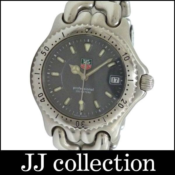 Tag Heuer プロフェッショナル セルシリーズ ボーイズ腕時計 G1213 SS クオーツ グレー文字盤|jjcollection2008