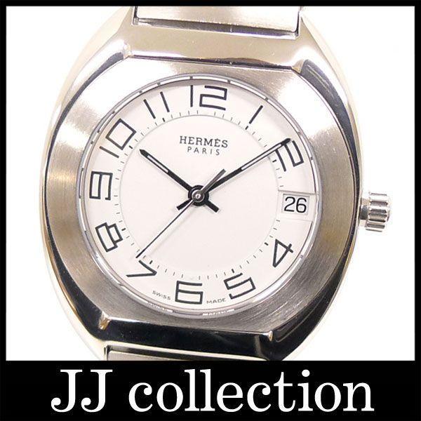 エスパスES2.210 クオーツ SSホワイト(白)文字盤腕時計|jjcollection2008