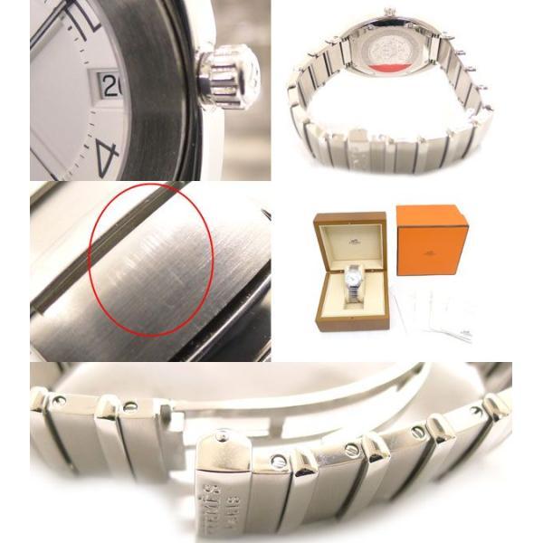 エスパスES2.210 クオーツ SSホワイト(白)文字盤腕時計|jjcollection2008|03