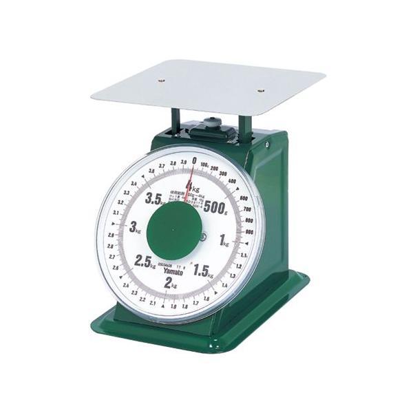 大和・普及型上皿はかり4kg・SDX−4 【代引き不可】
