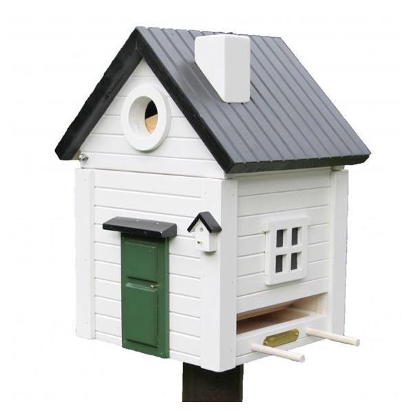 バードハウス マルチ ホワイト WG114 (代引不可 送料無料)