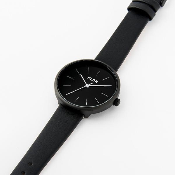 腕時計 メンズ レディース ギフト ウォッチ KLON DIVISION LINE BLACK SURFACE jmc 03