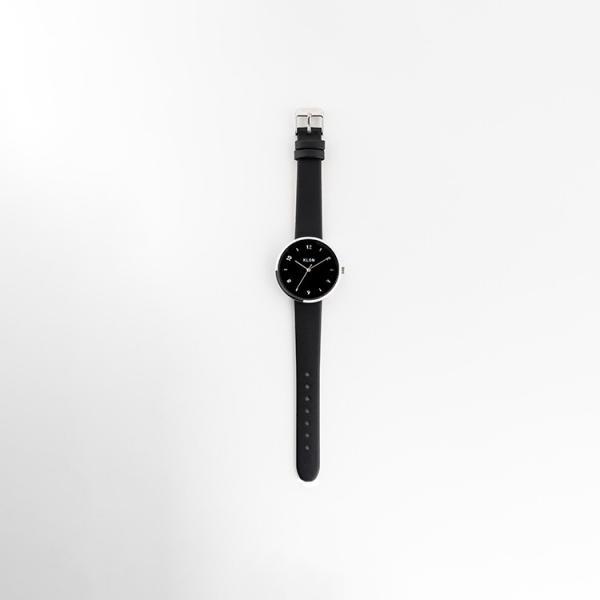 腕時計 メンズ レディース ギフト ペアウォッチ KLON PASS TIME ELFIN EVEN BLACK SURFACE