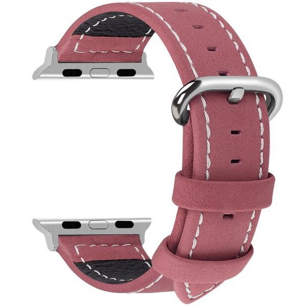 Apple Watch バンド Series 4 44mm 40mm 38mm 42mm 本革 レザー genuine leather バンド Series 1 2 3 4 対応 メンズ おしゃれ アップルウォッチ