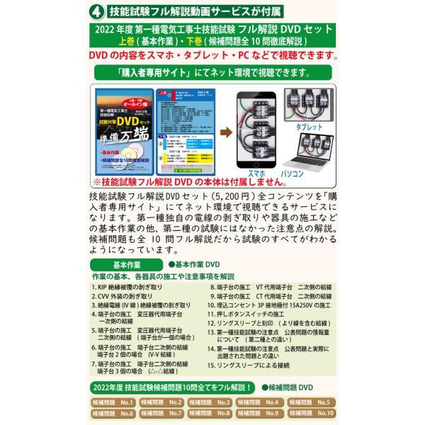 準備万端シリーズ (3回練習分) 平成30年度 第一種電気工事士 技能試験セット 練習用材料 全10問分の器具・電線セット|jmn-denki|06