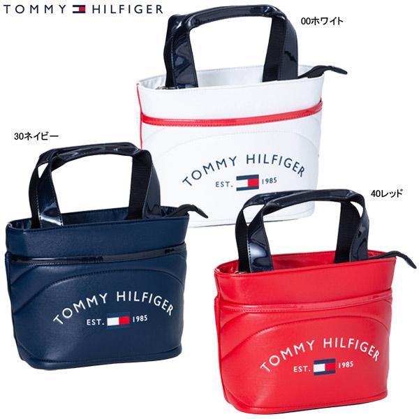 【21年SSモデル】トミーヒルフィガー ゴルフ メンズ/レディース ラウンド ロゴ ラウンドバッグ THMG1SB7 (UNISEX) ROUND LOGO ROUND BAG