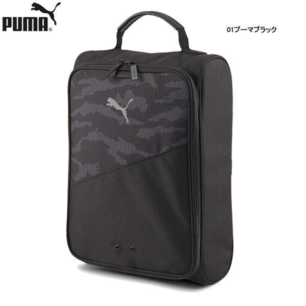 【21年継続モデル】プーマ カモフラージュ シューズバッグ 078123 PUMA GOLF