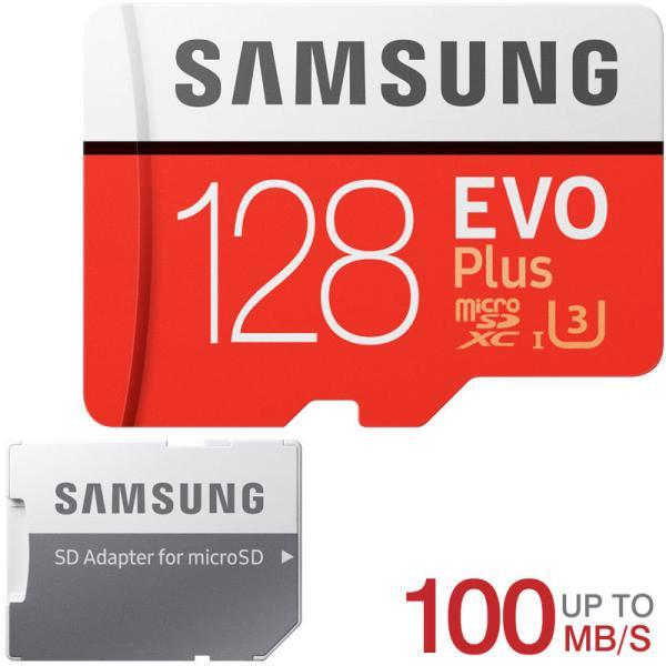 microSDXC 128GB SAMSUNG Class10 U3 4K対応 R:100MB/s W:90MB/s UHS-I SDアダプター付 海外パッケージNintendo Switch対応 SM3310MC128GACN一人様3枚限定