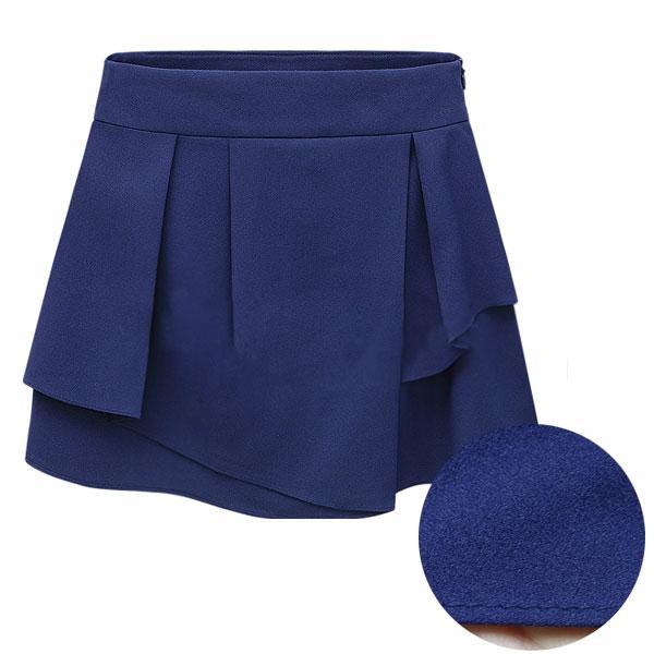 キュロット フリル スカート ショートパンツ ミニスカート|jnhshop|02