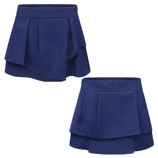 キュロット フリル スカート ショートパンツ ミニスカート|jnhshop|03