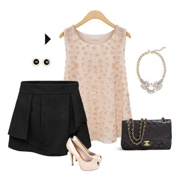 キュロット フリル スカート ショートパンツ ミニスカート|jnhshop|05