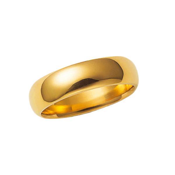 純金リング K24 24金 大きいサイズ 平甲丸巾5mm9g ボリューム オーダー 結婚指輪 高密度 鍛造 たんぞう 指輪 記念日 ギフト