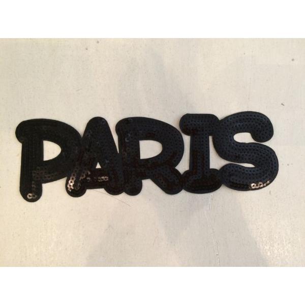 【DM便可】PARISのモチーフ(黒/大) joan08