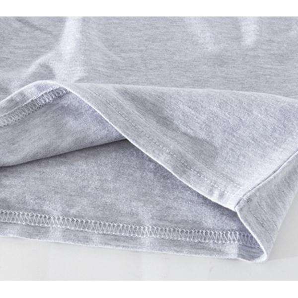 Tシャツ レディース 半袖 ショート丈 トップス 春 夏 へそ出し ミニ 無地 タイト カットソー 大人 ベーシック グレー 黒 白 紺 赤 JOCOSA 8081|jocosa|09