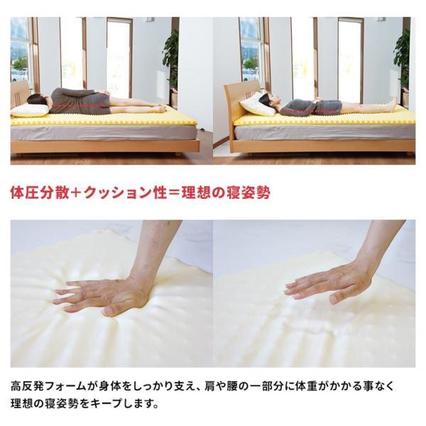 マットレス 高反発マットレス ブリヂストン シングル  ベッドマット 送料無料 洗える カバー 腰がラク|jolf-p|02