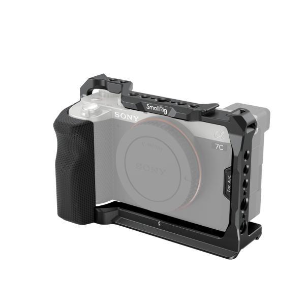 SmallRig 公式 SmallRig Sony α7C 用サイドハンドル付きケージ 3212
