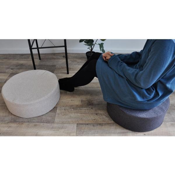 クッション 2点で送料無料 15cm厚 ふっくら ウレタン シートクッション 座布団 椅子 スツール ボリューム 低反発 高反発 neore|jonan-interior|11