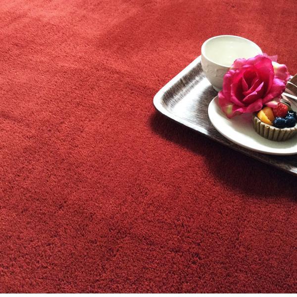 ラグ ラグマット 床暖房・ホットカーペット対応 厚み 洗える ラグ セレーナ serena 滑り止め 185×185cm|jonan-interior|02