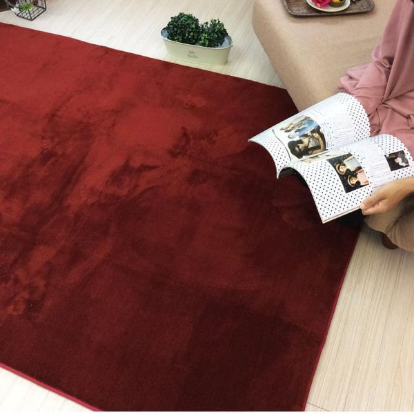 ラグ ラグマット 床暖房・ホットカーペット対応 厚み 洗える ラグ セレーナ serena 滑り止め 185×185cm|jonan-interior|04